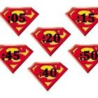 UPDATED: Super Hero Clock Numbers  The original version of the clock numbers were smaller in size with a watermark image.   The UPDATED version has...
