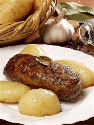 Sheftalia - Cypriot delicacy