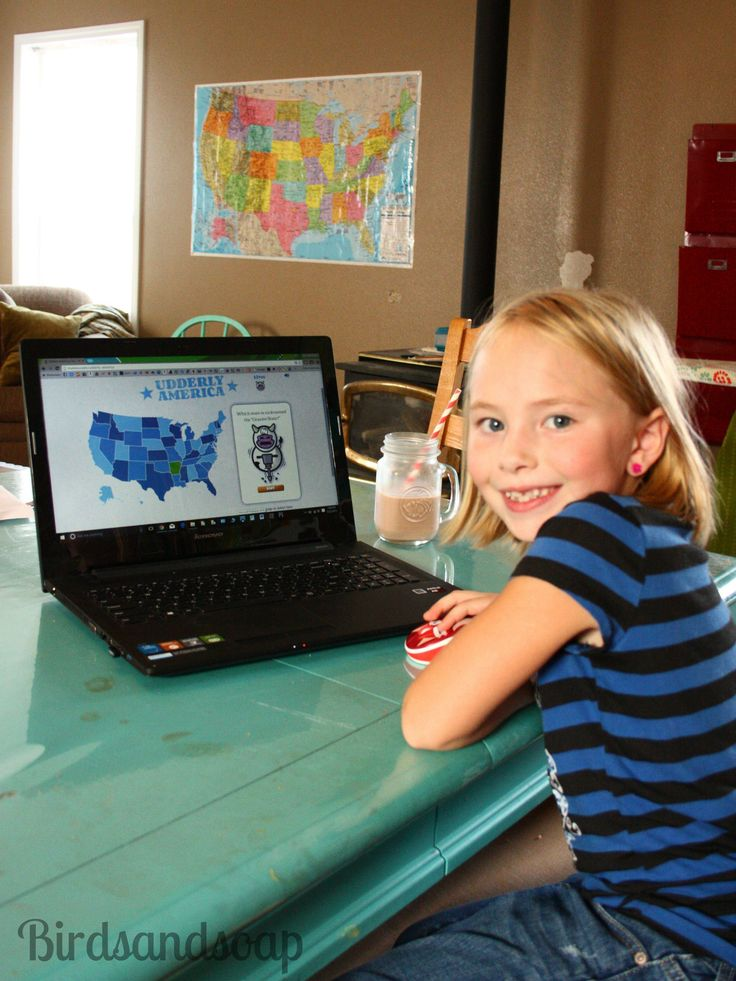 "FREE educational Games online! ""Udderly America"" Trivia Game from @TruMoo Milk #TruMoo milk school Udderly America #ad"