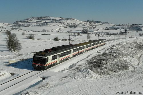 RENFE 470-100 - St Martí Sesgueioles 03/02/2012