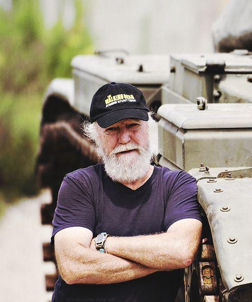 The Walking Dead // Scott Wilson behind the scenes