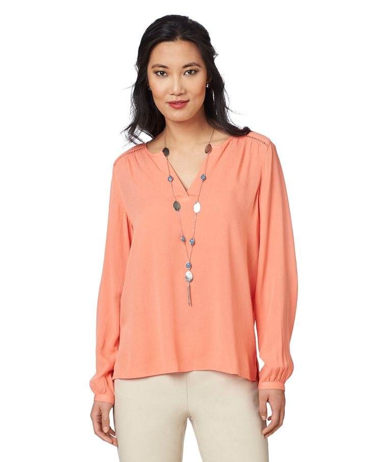 Northern Reflections - Textured Popover Blouse, $30.00 (http://www.northernreflections.com/textured-popover-blouse-451560851/)