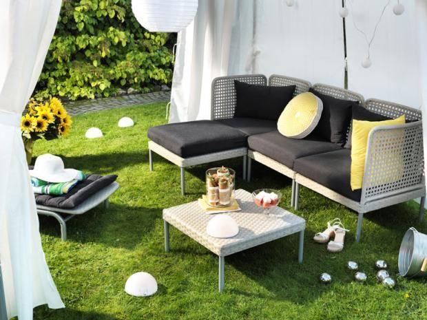 """Die gediegene Seite des Sommers Terrassenmöbel """"Enholmen ..."""