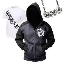 "Dean Ambrose ""Unstable"" T-Shirt & Hoodie Package"