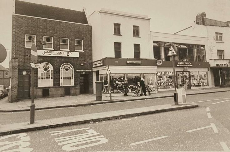 Camberwell Road Camberwell South East London England in 1979