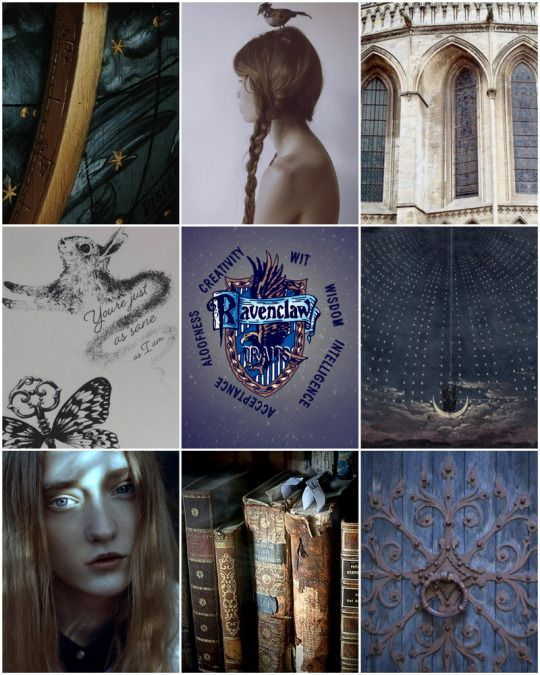 House Aesthetic: Ravenclaw traits