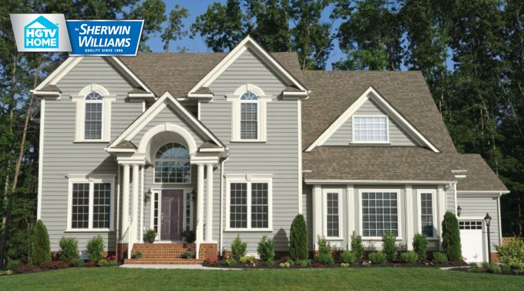 17 best images about exterior on pinterest exterior - Sherwin williams dorian gray exterior ...