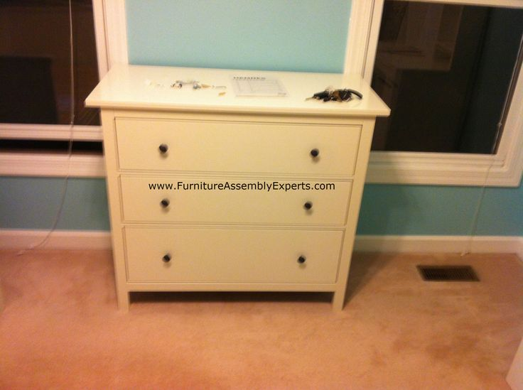 Ikea Hemnes 3 Drawers Chest Assembled In Baltimore MD For A Customer Kid`s  Room