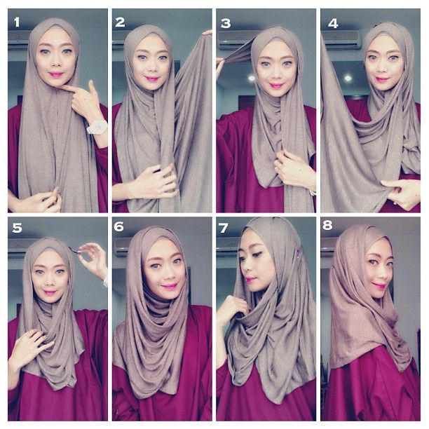 Simple Style Hijab Tutorial