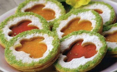 Velikonoční slepované cukroví / Easter sweets