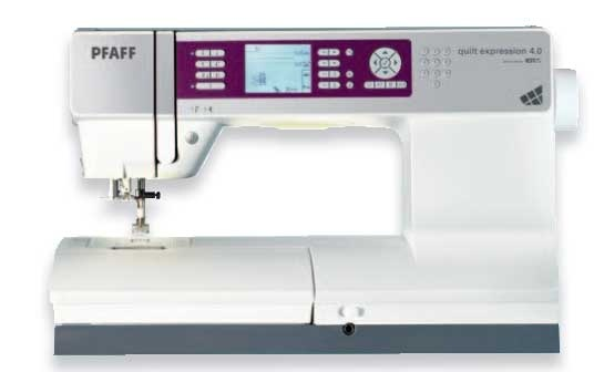 Pfaff Expression 4.0 A fancy shmancy machine with all the bells and whistles and price tag to match