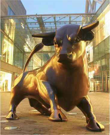 "The ""bull"" Birmingham England. Make your site a local landmark with us!  http://www.editidigital.co.uk"