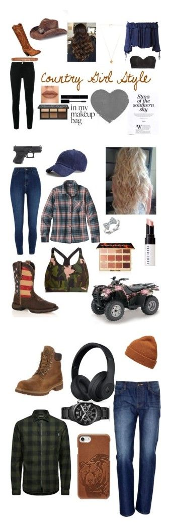 """""""Country Style"""" by hailey-2005 on Polyvore featuring Frame, Frye, Dsquared2, Gucci, Lucky Brand, Natori, Vanessa Mooney, Peter Grimm, country and The Upside"""