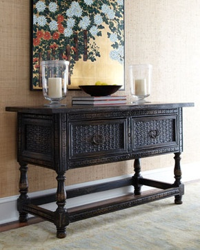 Weston Console traditional buffets and sideboards