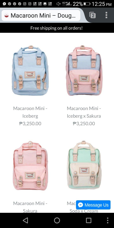 24deb74f2 Doughnut bag pastel backpack | Purses and Bags in 2019 | Pastel ...