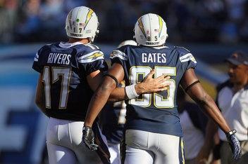 Philip Rivers & Antonio Gates
