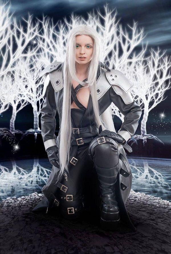 Final Fantasy Sephiroth Cosplay Gorgeous Sephir...