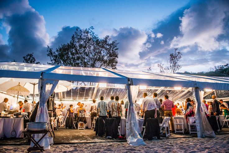 A marquee wedding on the beach is every girls dream. A ceremony only steps away from the sand dance floor is what dreams are made of