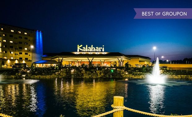 Kalahari Resorts & Conventions - Pocono Manor, PA: Stay with $50 Arcade Credit at Kalahari Resorts & Conventions in Pocono Manor, PA. Dates into June.