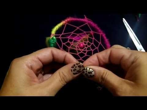 Como hacer un atrapasueños: DIY// Dream Catcher - YouTube