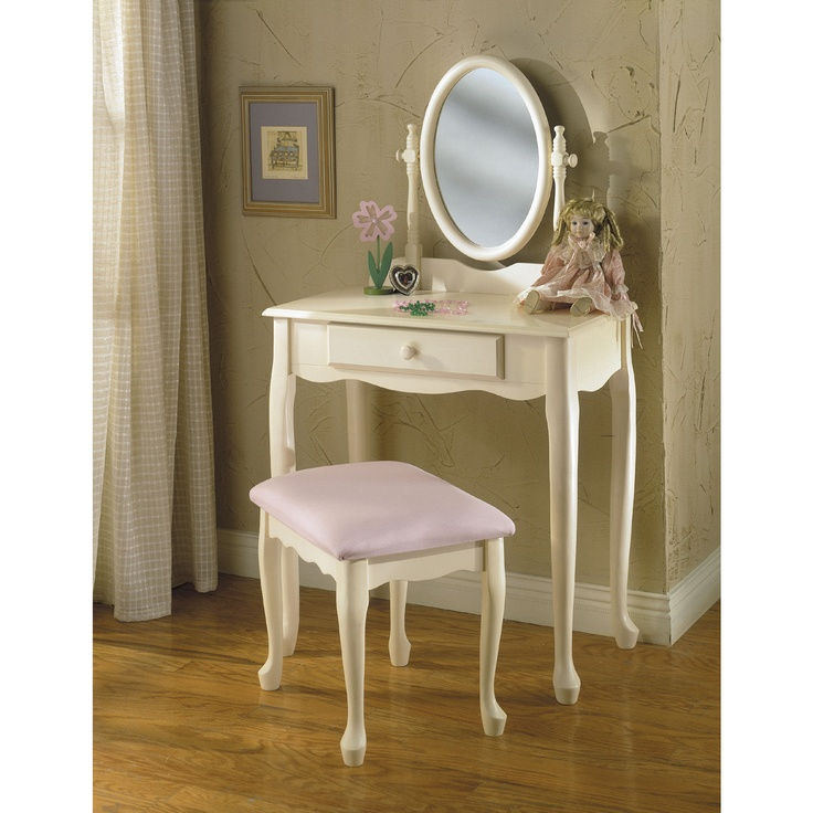 Powell 28 quot  Children  39 s Bedroom Vanity Set. 17  images about Bedroom Vanities on Pinterest   Art deco bedroom