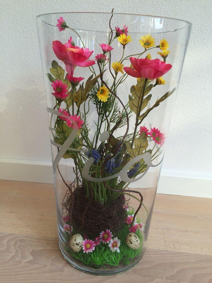 Fleurige vaas