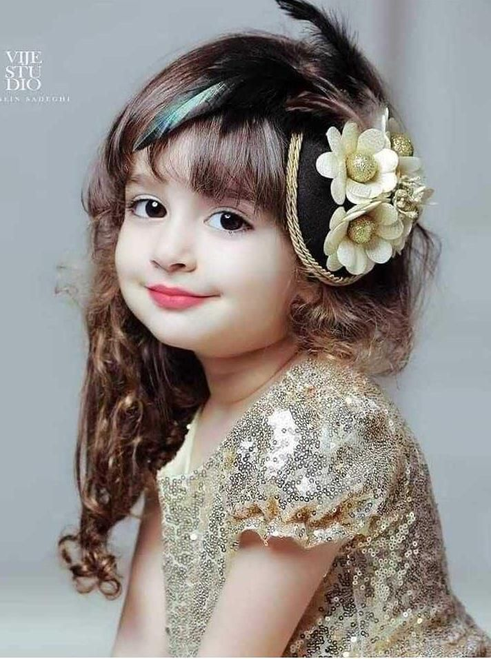 Moderen Cute Dp For Whatsapp Baby Baby Hairstyles Baby Girl Images Natural Hair Babies