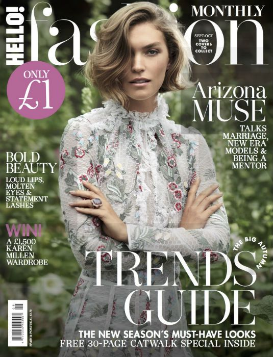 The September issue is out now! Featuring Arizona Muse as cover star, full AW17 trend guide, Sezane & Charlotte Simone, read the Editor's letter here!