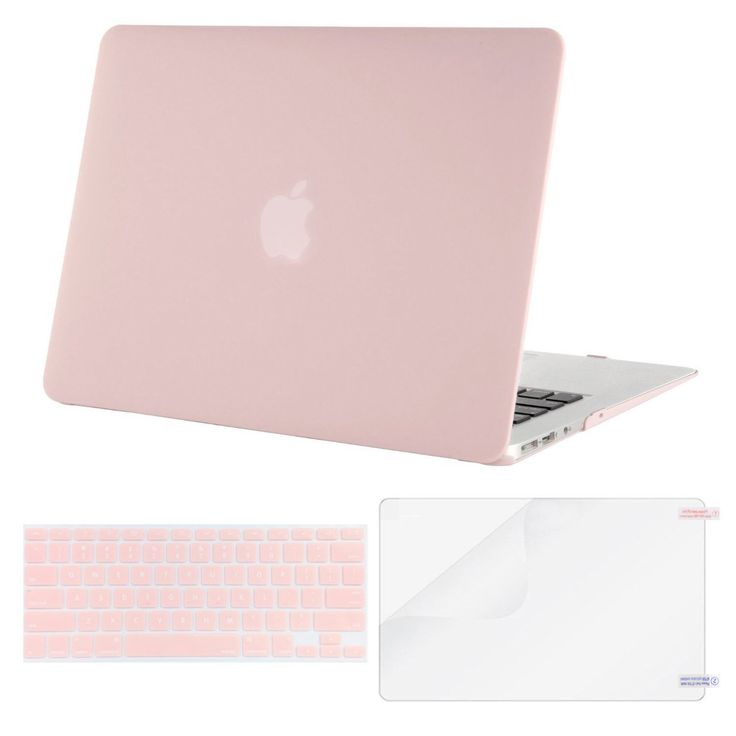 Amazon.com: Mosiso Plastic Hard Case with Keyboard Cover with Screen Protector for MacBook Air 13 Inch (Models: A1369 and A1466), Rose Quartz: Computers & Accessories | @giftryapp