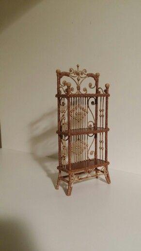 Wicker Shelves by Rhea Strange