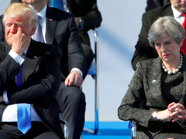 "Donald Trump won't visit the UK until Theresa May fixes a 'better reception' for him - He's not coming to the UK until she can ""fix"" a warmer reception.  That was US president Donald Trump's instruction to Theresa May over the phone, according to the Sun on Sunday .  The newspaper quoted the transcript of a phone call between the two leaders seen by diplomatic sources.  Trump apparently said: ""I haven't had great coverage out there lately, Theresa.""  He went on: ""I still want to come, but…"