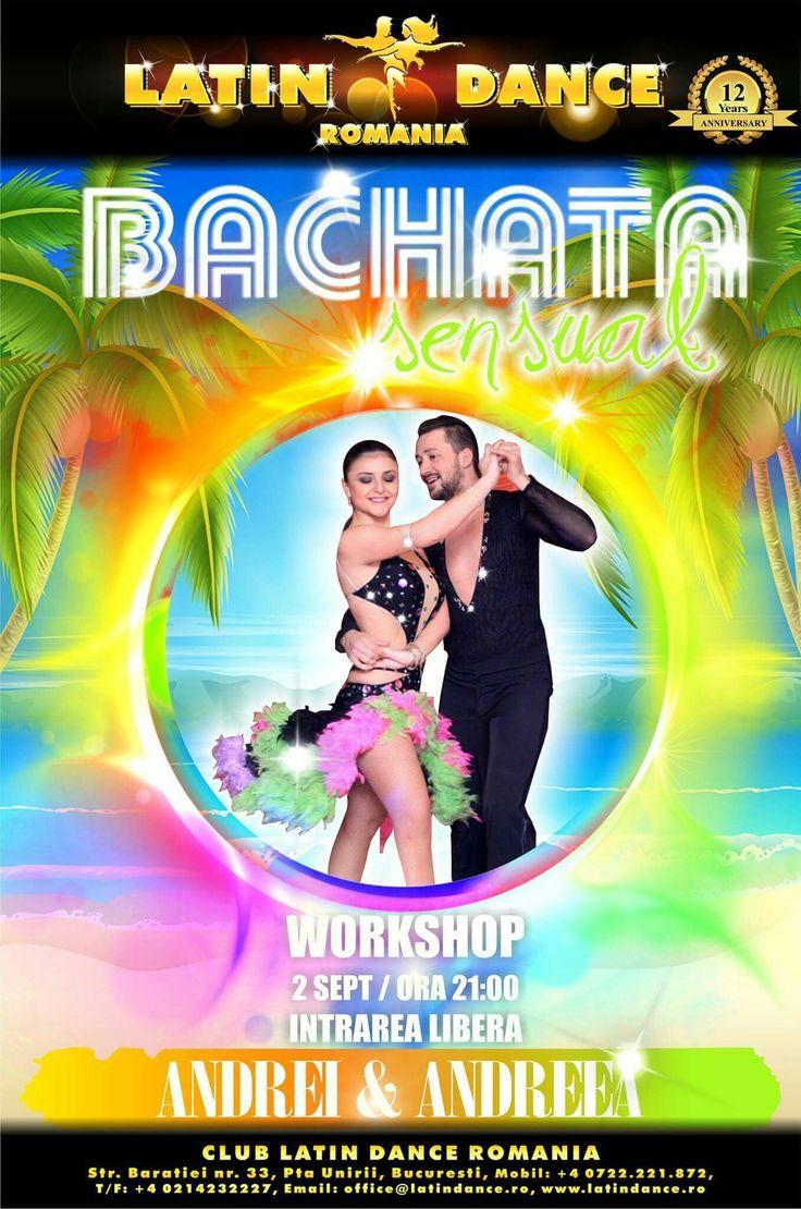 TONIGHT!!! 21:00, Workshop Bachata Sensual with Andrei-Bogdan Enache & Andreea Katy at Latino Dance Romania. Don't forget to be SENSUAL!!!! Free Entry ✔ #bachata #sensual #latinodance #baratiei33