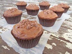 Simple choco cupcakes with simple ingredients which i have in cupboard. Will make these for bakesale
