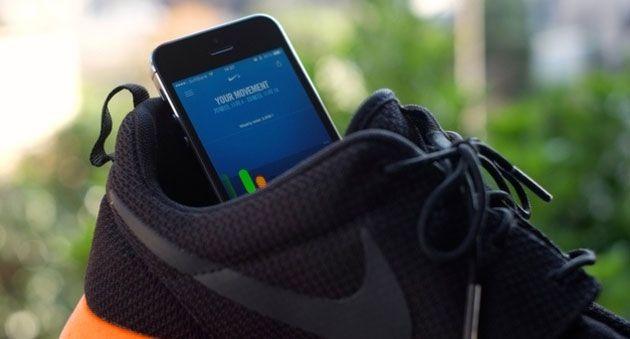 NIKE عملاق المعدات الرياضية تطلق تطبيق موف MOVE على الأيفون IPHONE 5S لحساب معدل نشاطك اليومي