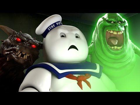 Mira la reacción de Marshmallow al tráiler de la película de las Cazafantasmas