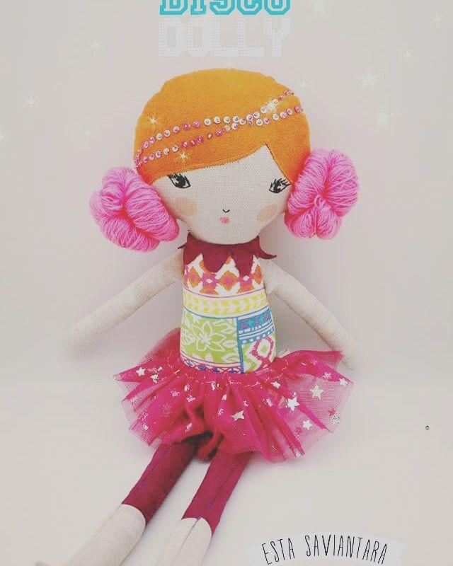 Disco dolly Linen doll IDR 165k