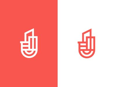 Urban / city / logo by Deividas Bielskis #Design Popular #Dribbble #shots