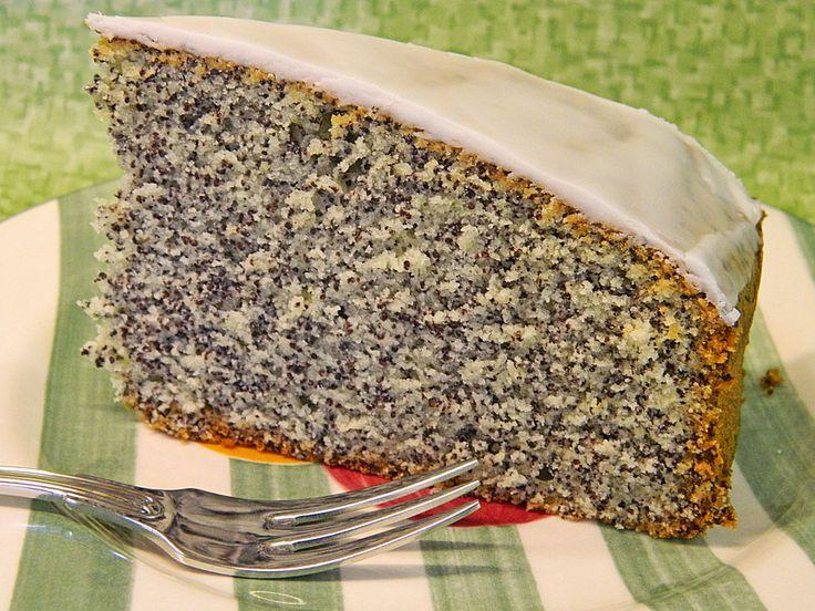 Mohnkuchen – einfach aber lecker, ein leckeres Rezept aus der Kategorie Backen. Bew …   – Baking recipe