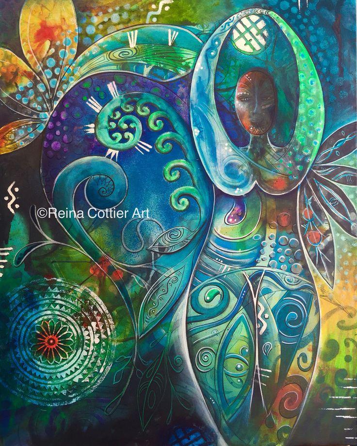 Inner Goddess #1 Reina Cottier Art Www.reinacottier.com