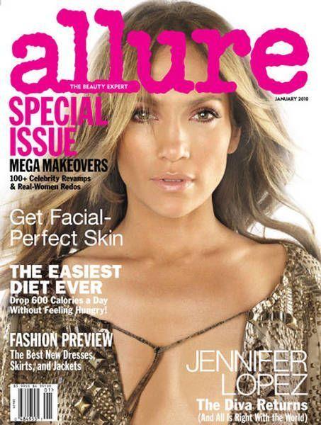 Jennifer Lopez - Allure Magazine [United States] (January 2010)