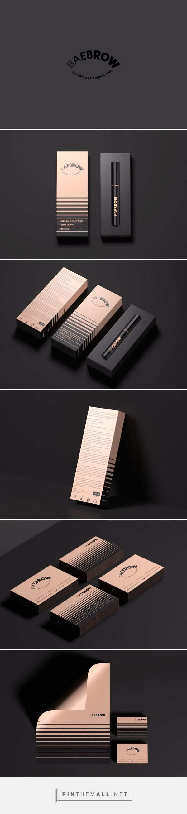 BAEBROW Cosmetic Branding and Packaging by Robinsson Cravents | Fivestar Branding Agency – Design and Branding Agency & Curated Inspiration Gallery