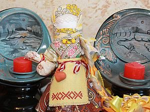 Творим оберег для дома куклу Берегиню | Ярмарка Мастеров - ручная работа, handmade