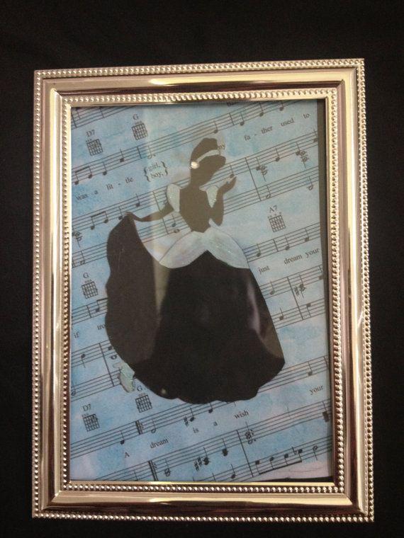 Cinderella DIsney Decor Sheet Music
