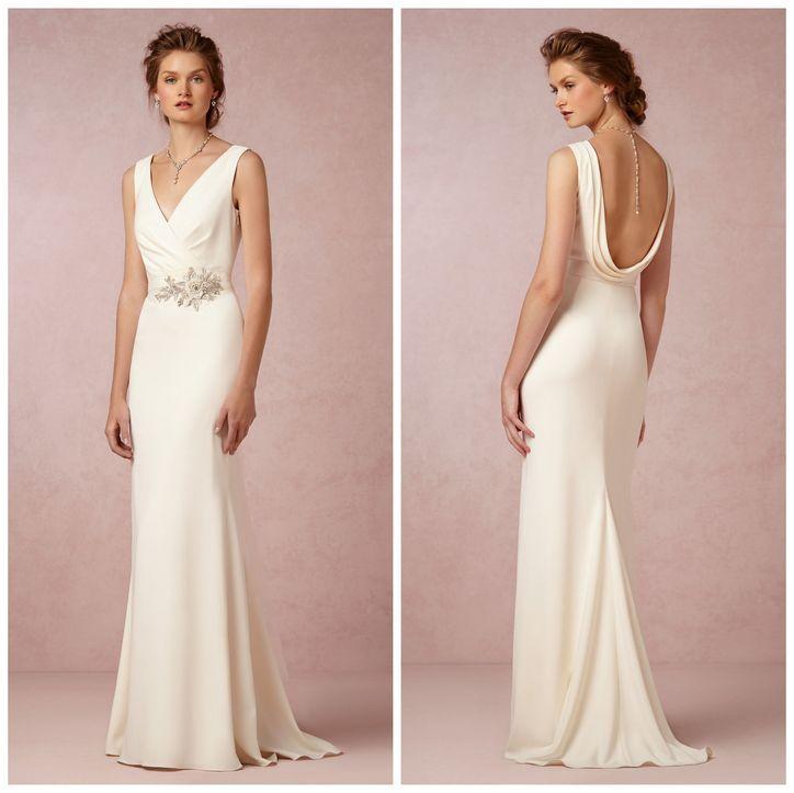 7 ballerina inspired wedding dresses might inspire for Cowl back wedding dress