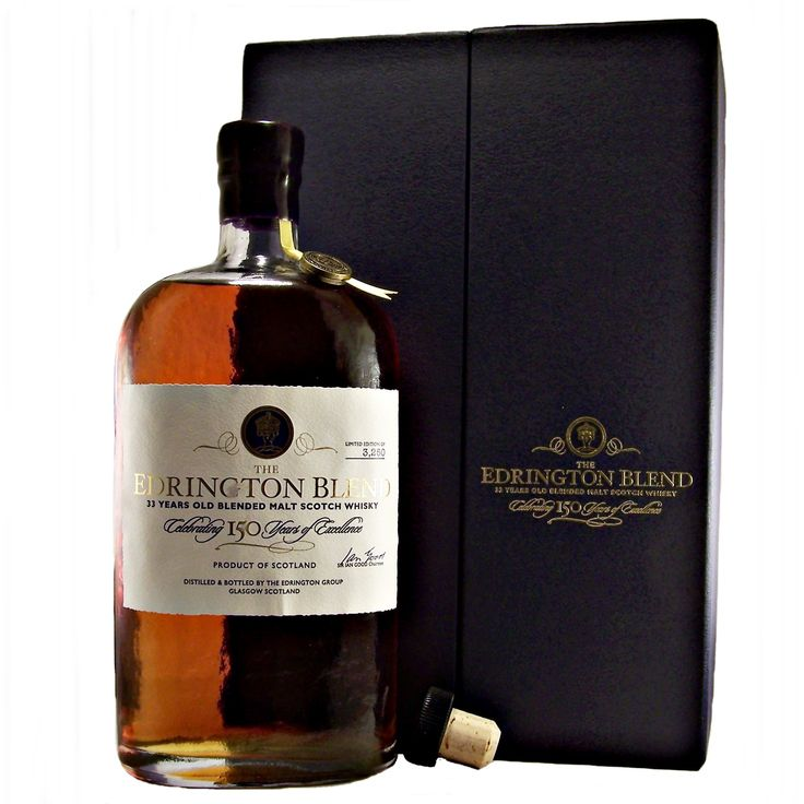The Edrington Blend 33 year old 150th Anniversary available to buy online at specialist whisky shop whiskys.co.uk Stamford Bridge York