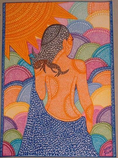 Mujer a Espaldas