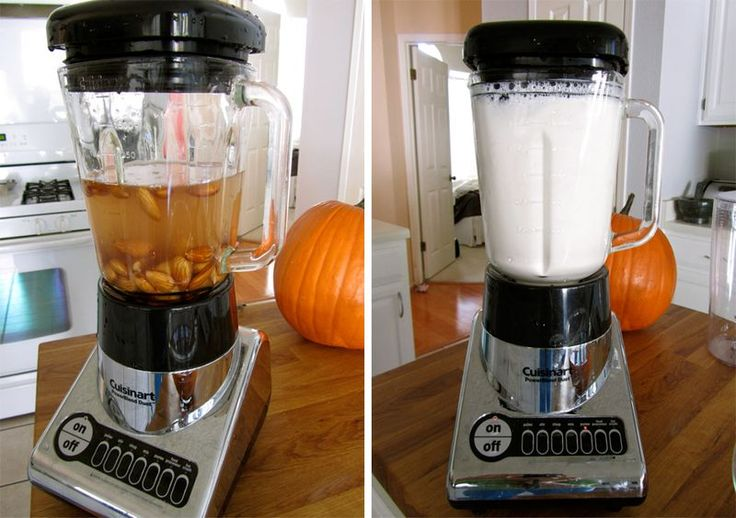 How to make almond milk - easy recipe - 6. I use to make almond milk but added a pinch of salt and honey