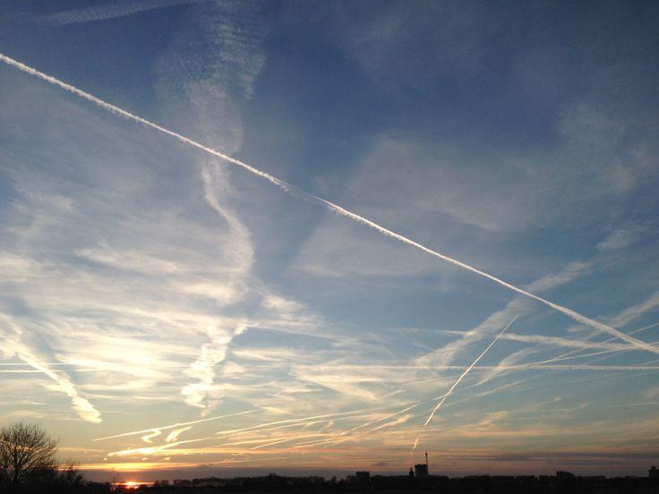 sky above bossche broek