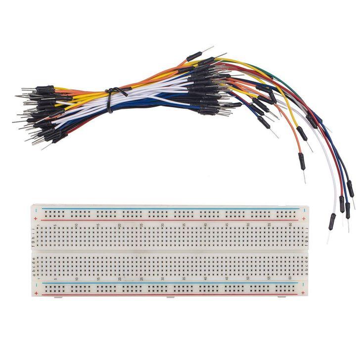 Der Spielzeugtester hat sich das SunFounder Solderless Breadboard Prototype PCB Board MB102 830 Tie-Points + Male to Male Jumper Wires Flexible 65pcs angesehen und kann Dir das Produkt zum Spielen empfehlen. Ich versuche alle Produkte immer selbst zu testen. Aufgrund der Vielzahl der Artikel… – Spielzeugtester