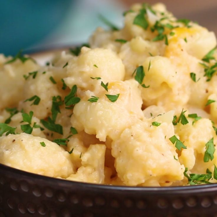 "Cauliflower ""Mac"" 'N' Cheese"